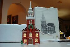 Department 56 New England Village Series old north church new in box