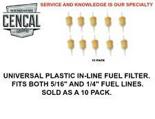 UNIVERSAL INLINE FUEL FILTER 131261275A 10 PACK VW AUDI PORSCHE BMW