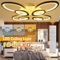 1040LED Modern Acrylic Ceiling Lights Living Bedroom Chandelier Lamp Fixtures