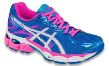 NEW ASICS Womens GEL Flux 2-Electric Blue/White/Turquoise-Running Shoes-6