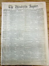 1863 Civil War newspaper w Early LINCOLN executive order on SLAVE EMANCIPATION