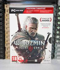 THE WITCHER 3 WILD HUNT/ WIEDZMIN III: DZIKI GON [PC] BOX 4DVD