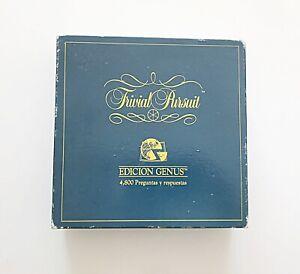 """Trivial Pursuit - Edición Genus """"Completo"""" 1992 Español (Parker) (Juego de Mesa)"""