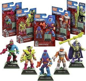 MEGA CONSTRUX Masters of The Universe MOTU Heroes 5 Pack Amazon EXCLUSIVE