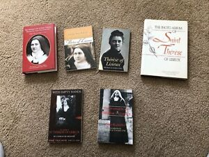 ST THERESE OF LISIEUX--LOT OF 6 VG BOOKS