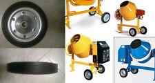Ruota ruote in gomma piena ricambio per betonierada dfiametro 35 CM foro 3,5 cm