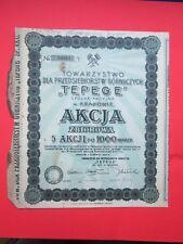 Poland - AKCJA Gornicza TEPEGE - Krakow 1923 r.