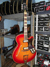 Framus 5/120 Billy Lorento Jazz Guitar Hollowbody Sunburst Archtop