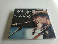 JJ8- NEIL YOUNG TOO LATE TOO SOON GERMANY MAY 19 TH 2002 2CD RE-PRECINTADO RARO