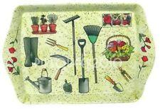 Leonardo Collection ` Gardening Garden Tools Flowers ` Tray Lesser & Pavey K{4