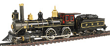 BACHMANN  51114 HO STEAM LOCOMOTIVE AMERICAN 4-4-0 & TENDER PRR MSRP $149.00