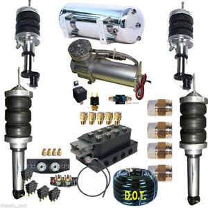 B Any Honda Civic Accord Front&Rear Air Suspension  all components included