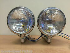 SUZUKI BANDIT TWIN BATES HEADLIGHTS CHROME STREETFIGHTER 4 1/2""