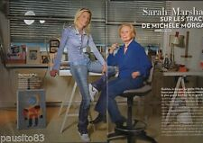 Coupure de presse Clipping 2009 Sarah Marshall & Michèle Morgan (4 pages)
