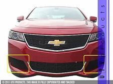 GTG 2014 - 2019 Chevy Impala 2PC Gloss Black Custom Billet Grille Accent Kit
