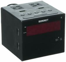 Sonnet Bluetooth Power Station Clock Radio R-1415BT