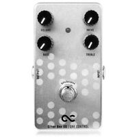 New One Control Silver Bee Overdrive Guitar Effects Pedal