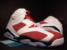 2014 NIKE AIR JORDAN VI 6 RETRO WHITE CARMINE INFRARED RED BLACK 384664-160 11