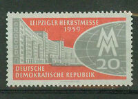 DDR Briefmarken 1959 Leipziger Herbstmesse Mi 712 **