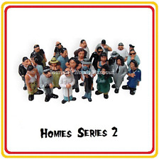 Homies Series 2 -  24 different figures,  great for 1:32 dioramas HTF ( loose )
