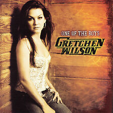 ONE OF THE  BOYS BY GRETCHEN WILSON (CD-2007 COLUMBIA NASHVILLE)  NEW AND SEALED