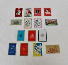 Lot of 15 Assorted Vintage Swap Cards - Pin-ups, Colleges, Centennials and More