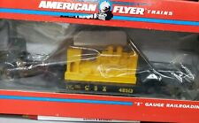 American Flyer 6-48513 CSX Flat Car with Generator NEW
