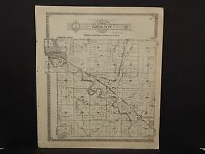 Nebraska Harlan County Map Emerson or Spring Grove Townships 1921  P5#60
