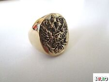 BAGUE RUSSIE IMPERIALE - IMPERIAL RUSSIA RING - TAILLE 57 - SIZE 7.5