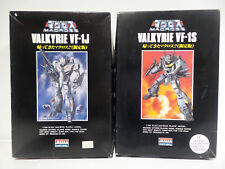 MACROSS : 1/100 SCALE BATTROID VALKYRIE VF-1J & VF-1S MODEL KITS MADE BY ARII