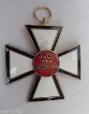 ORIGINALE CROCE fedele al padre paese 14 18-Deutsches impegno Croce