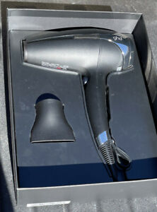 GHD Helios 120V Professional Hairdryer - Black  Silver - NEW OPEN BOX