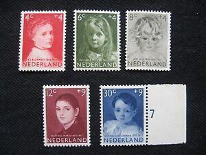 Netherlands: 1957 Child Care set, unmounted mint (MNH)