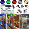 10ft-20ft 60-120 LED Closet Kitchen Under Cabinet Counter light (+Remote+Power)