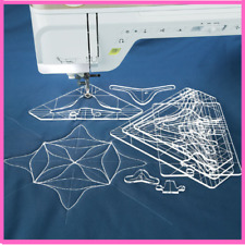 Free Motion Template Quilting Set Template For Low Shank Domestic Sewing Machine