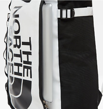 The North Face Unisex New Base Camp Durable Tote Bag Bagpack White/Black