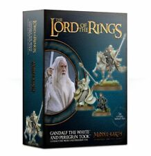 Gandalf the White and Peregrin Took LOTR Games Workshop 20% off UK rrp
