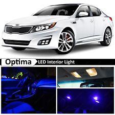 11x Blue Interior Map Dome LED Lights  Package Kit Fit 2011-2015 Kia Optima K5