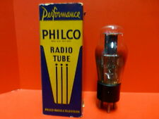 PHILCO 56 Vintage Triode Tube,NOS/NIB,Engraved Base,Test Strong,Classic ST style
