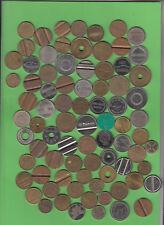 Tokens Marken Schrott Junk Dubletten Reste ca. 80 Stück (13.021) stampsdealer