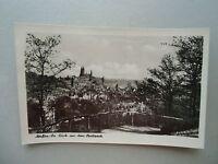 Ansichtskarte Meißen Sachsen Blick aus dem Stadtpark 1959