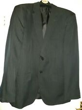 """Mens Grey Pinstripe Suit Jacket Single Breasted 40""""R. F&F. Single vent."""
