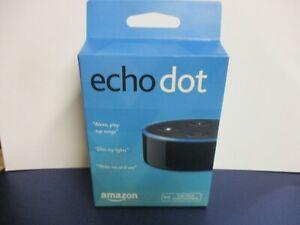 NIB New Amazon Echo Dot 2nd Generation Alexa Smart Assistant Enabled Bluetooth