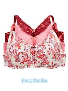 """US """"Comfort Choice"""" 100% Cotton Wire-Free Full Coverage Bras Plus Size"""