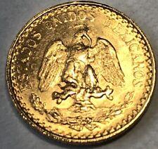 1945 MEXICO 2 PESO GOLD #23