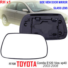 01-07 TOYOTA COROLLA ALTIS E120 E130 VIOS XP40 SIDE DOOR MIRROR GLASS LENS RIGHT