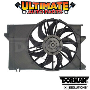 Radiator Cooling Fan (2.3L 4 Cylinder) for 92-94 Ford Topaz (Mexico)