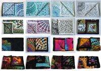 New Baby Blanket Quilt Indian Print Handmade Cotton Hand Fabric Kantha Bed Cover