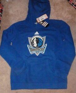 NEW NBA Dallas Mavericks Hoodie Hooded Sweatshirt Youth Boys M Medium 10 12 NWT