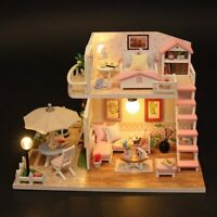 NEW LOL SURPRISE DOLL HOUSE Made with REAL WOOD Children gifts Xmas Gift